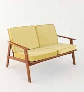 Danish Modern Love Seat, $398