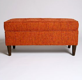 Jet Set Storage Bench, $248