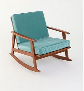 Mid-Century Rocker Chair, $288