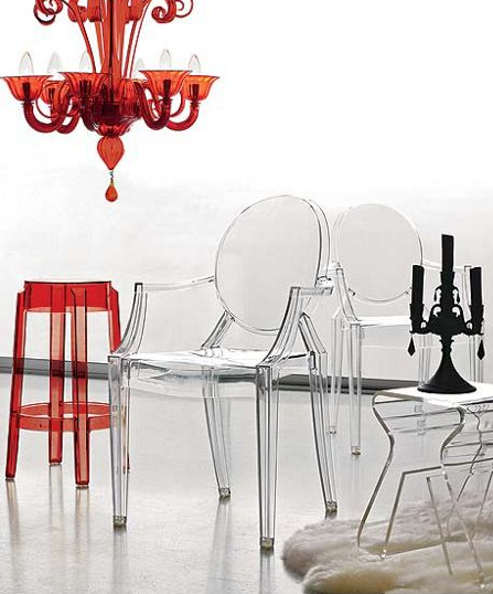 philippe starck ghost chair. Philippe Starck Louis Ghost