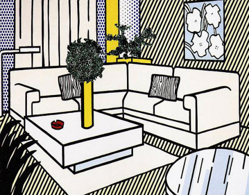 Get The Look Roy Lichtenstein Living Room 171 The Frugal