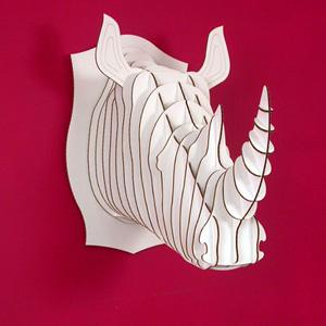 large rhino trophy