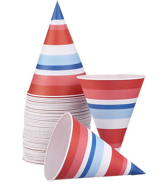 Set of 50 Snowcone Papers, $6.95