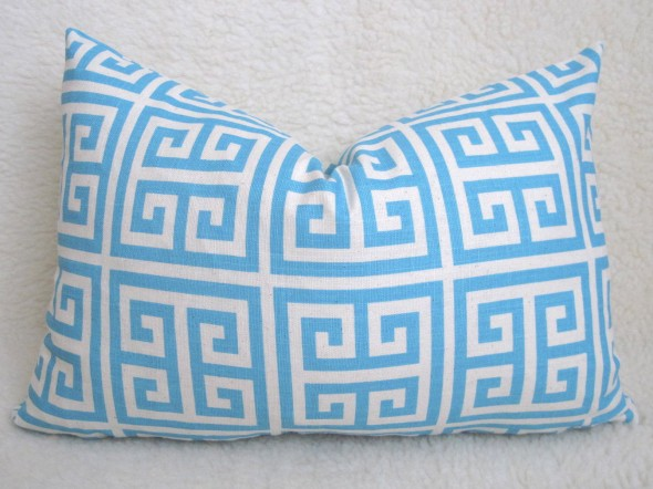  Designer Decorative Greek Key Pillow