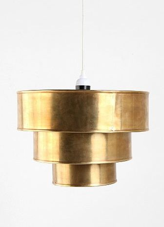Triple Tiered Pendant Shade, $64.00