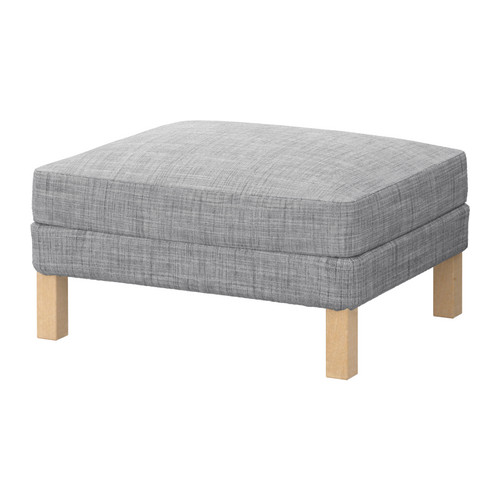  KARLSTAD Footstool, Isunda gray