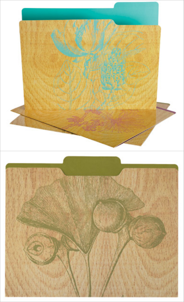 Wildflower Folders - Office Max, $5.99 for nine