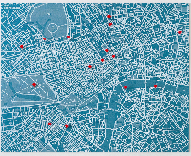 Pin City Map of London - Palomar, Fab.com, $45