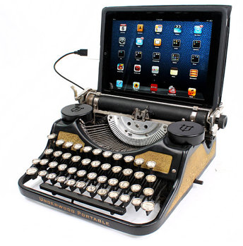 USB Typewriter, DIY Kit - usbtypewriter on etsy, $49