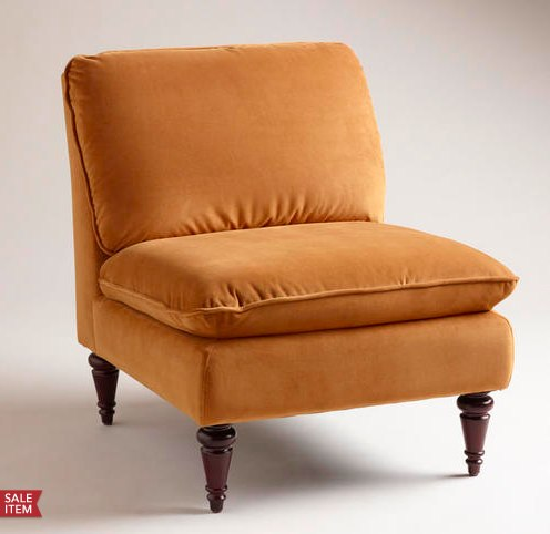 Goldenrod Ravenna Chair