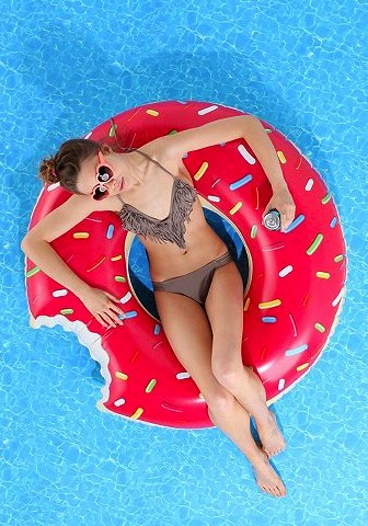Donut Pool Float, $18