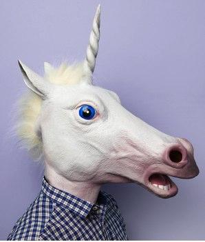 Magic Unicorn Mask, $34