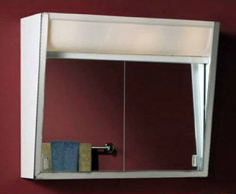 Broan Surface Mounted Cabinets w/ Built-In Top Light, $137