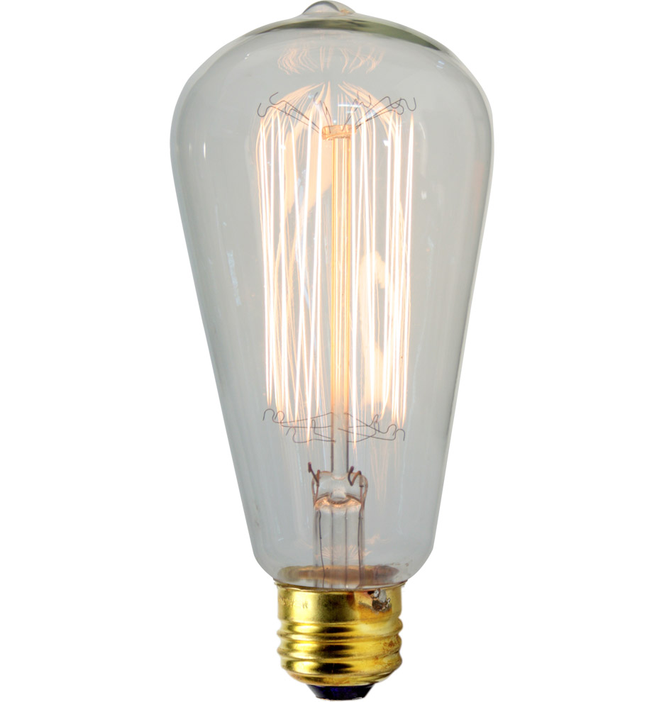 30W Squirrel-cage Tungsten Filament Bulb, $16