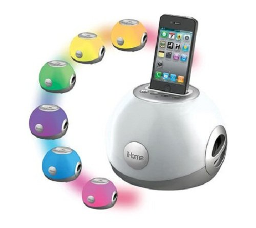 iHome Color Changing iPod/iPhone Speaker Dock, $65