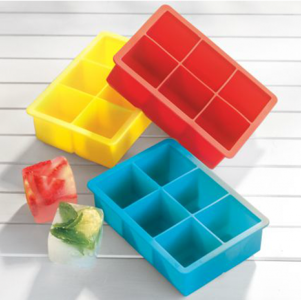 Red King Cube Ice Tray, $8.95