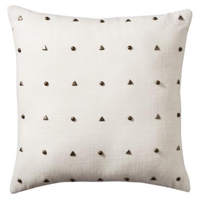 Nate Berkus Decorative Pillow with Studs, $20