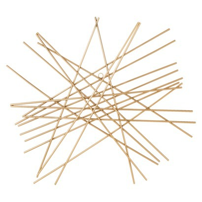 Nate Berkus Starburst Wall Decor - Gold