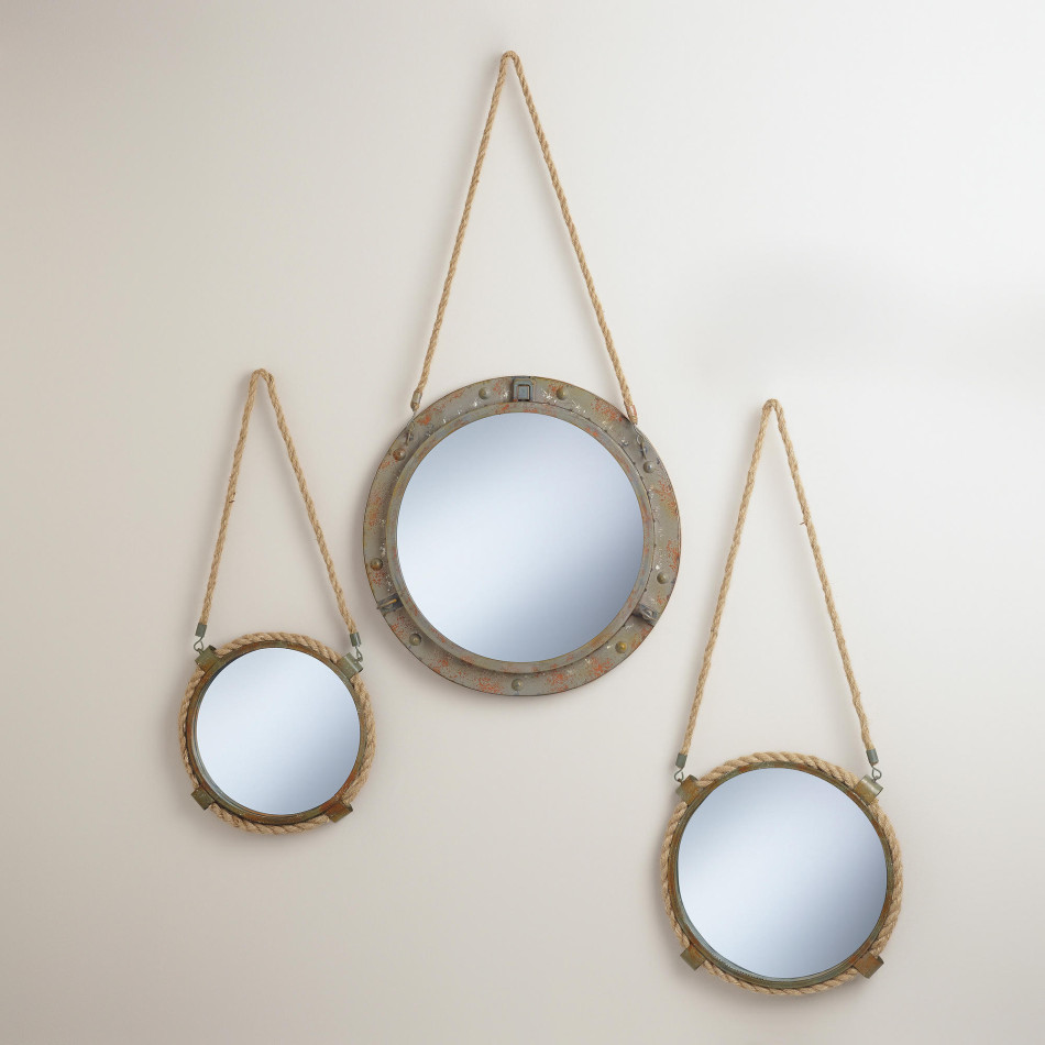 World Market Connor Rope Mirrors , from $30