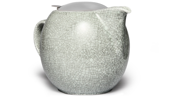 Japanese Ceramic Crackle Glaze Teapot
